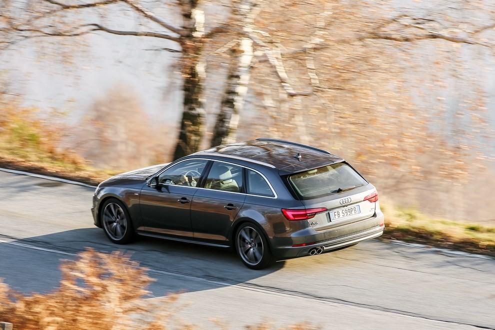 Audi A4 e A4 Avant 2016 prova su strada, prezzi e dotazioni di serie - Foto 17 di 58