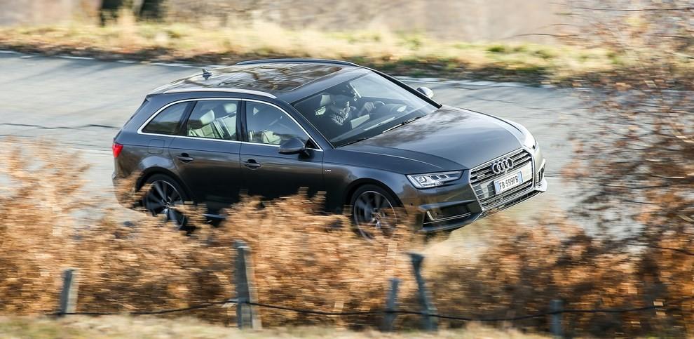 Audi A4 e A4 Avant 2016 prova su strada, prezzi e dotazioni di serie - Foto 18 di 58