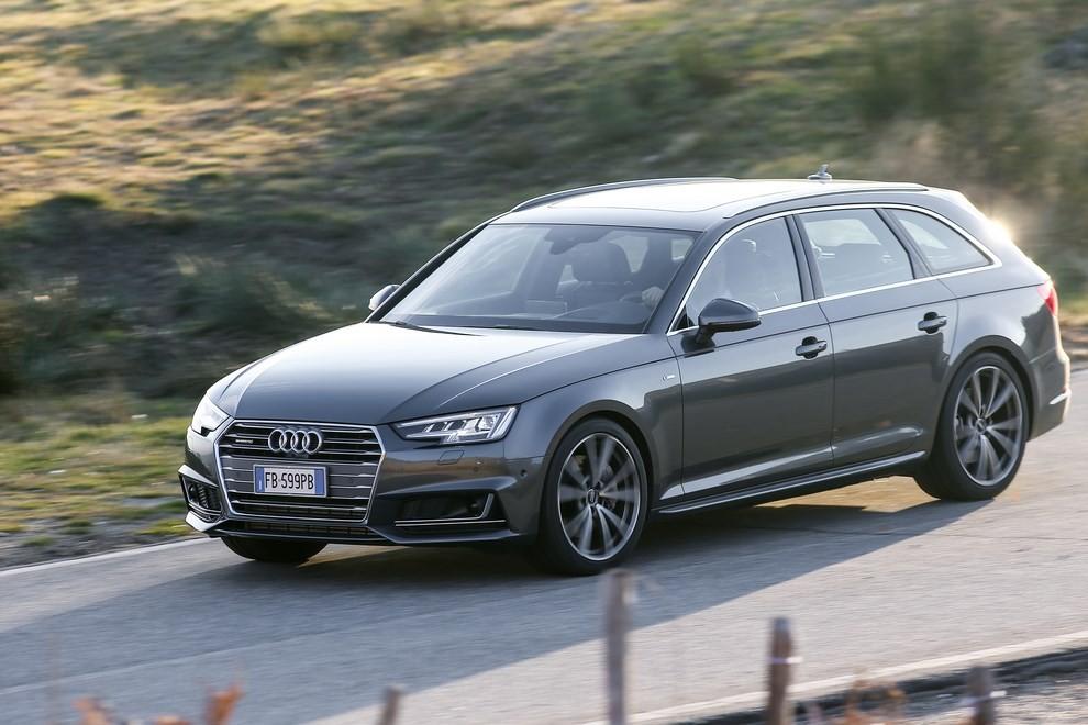 Audi A4 e A4 Avant 2016 prova su strada, prezzi e dotazioni di serie - Foto 20 di 58