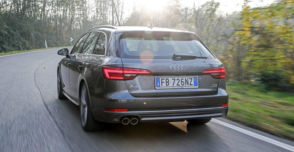 Audi A4 e A4 Avant 2016 prova su strada, prezzi e dotazioni di serie - Foto 24 di 58