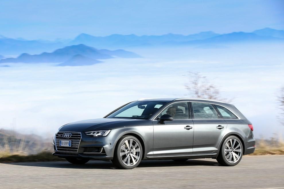 Audi A4 e A4 Avant 2016 prova su strada, prezzi e dotazioni di serie - Foto 12 di 58