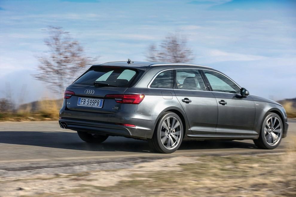 Audi A4 e A4 Avant 2016 prova su strada, prezzi e dotazioni di serie - Foto 13 di 58