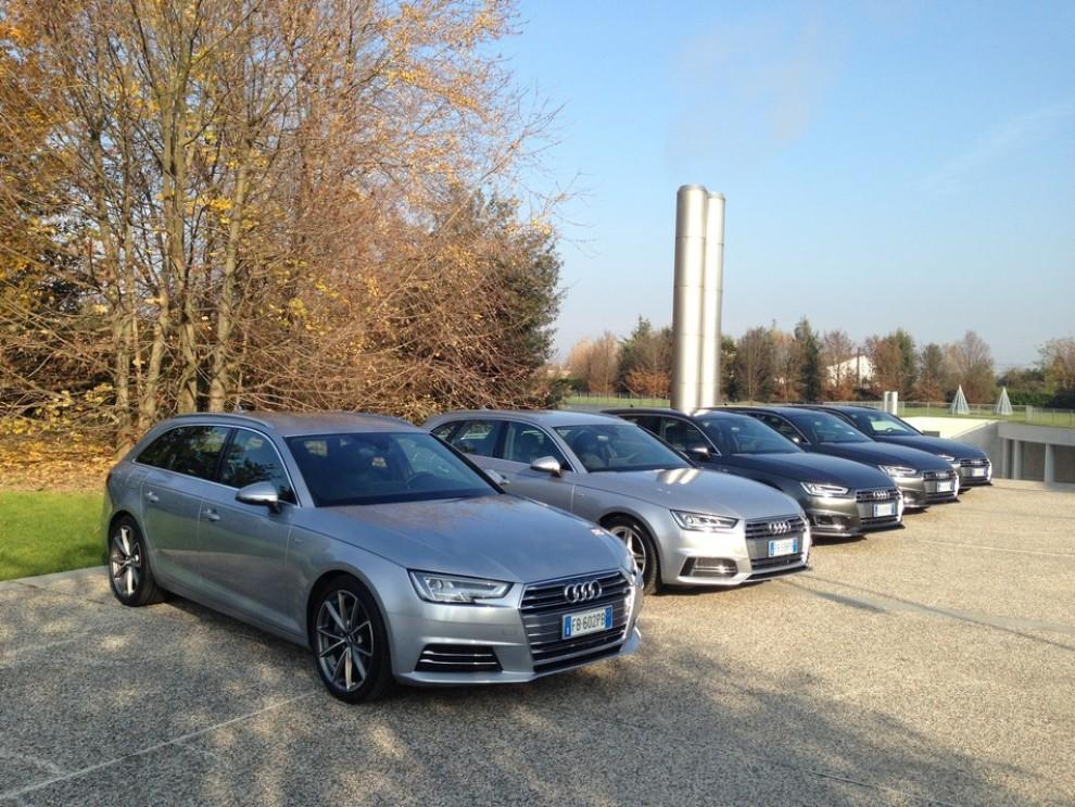 Audi A4 e A4 Avant 2016 prova su strada, prezzi e dotazioni di serie - Foto 2 di 58