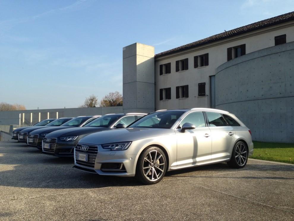 Audi A4 e A4 Avant 2016 prova su strada, prezzi e dotazioni di serie - Foto 4 di 58