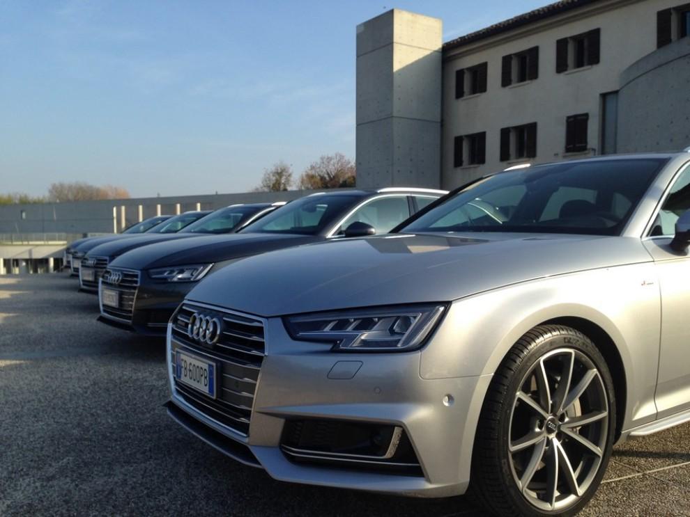 Audi A4 e A4 Avant 2016 prova su strada, prezzi e dotazioni di serie - Foto 5 di 58