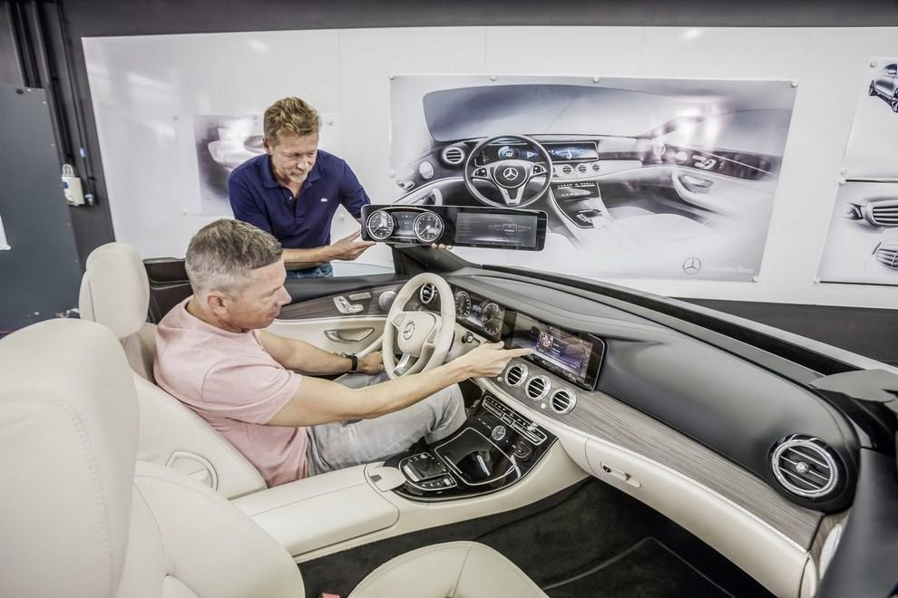 Nuova Mercedes Classe E, gli interni - Foto 4 di 18