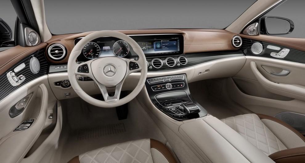 Nuova Mercedes Classe E, gli interni - Foto 5 di 18