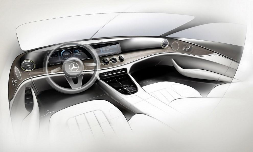 Nuova Mercedes Classe E, gli interni - Foto 8 di 18