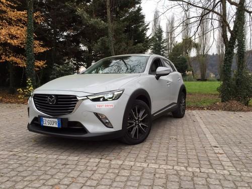 Mazda CX-3 1.5 Diesel prova su strada e prezzi 