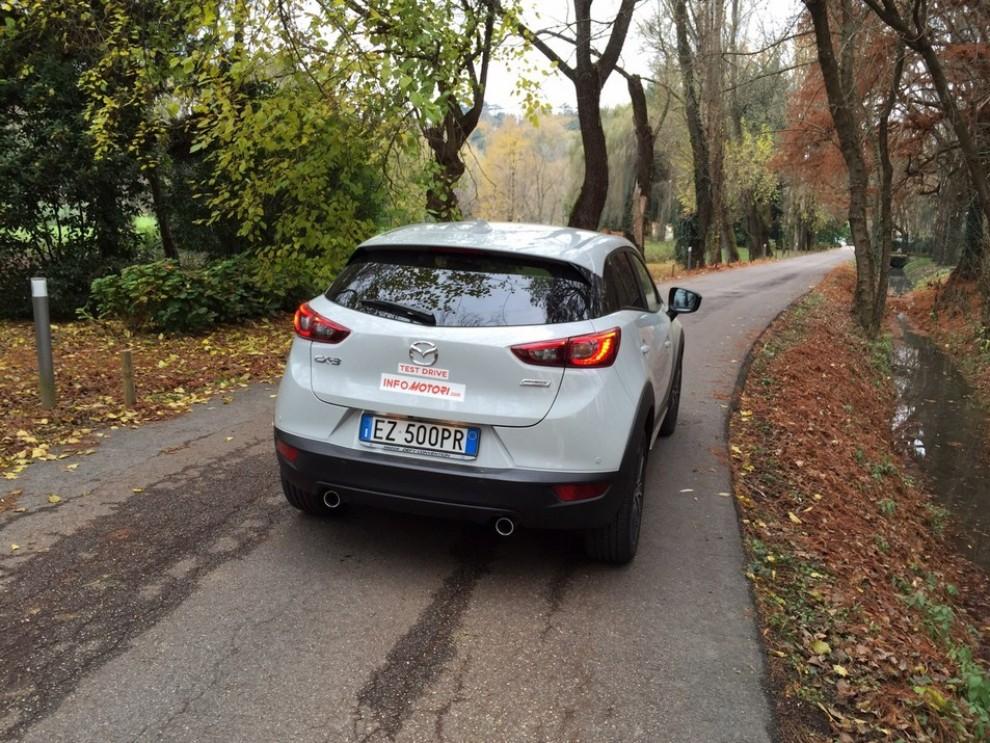 Mazda CX-3 1.5 Diesel prova su strada e prezzi  - Foto 3 di 19