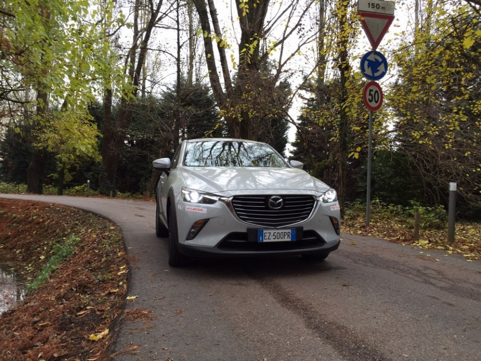 Mazda CX-3 1.5 Diesel prova su strada e prezzi  - Foto 1 di 19