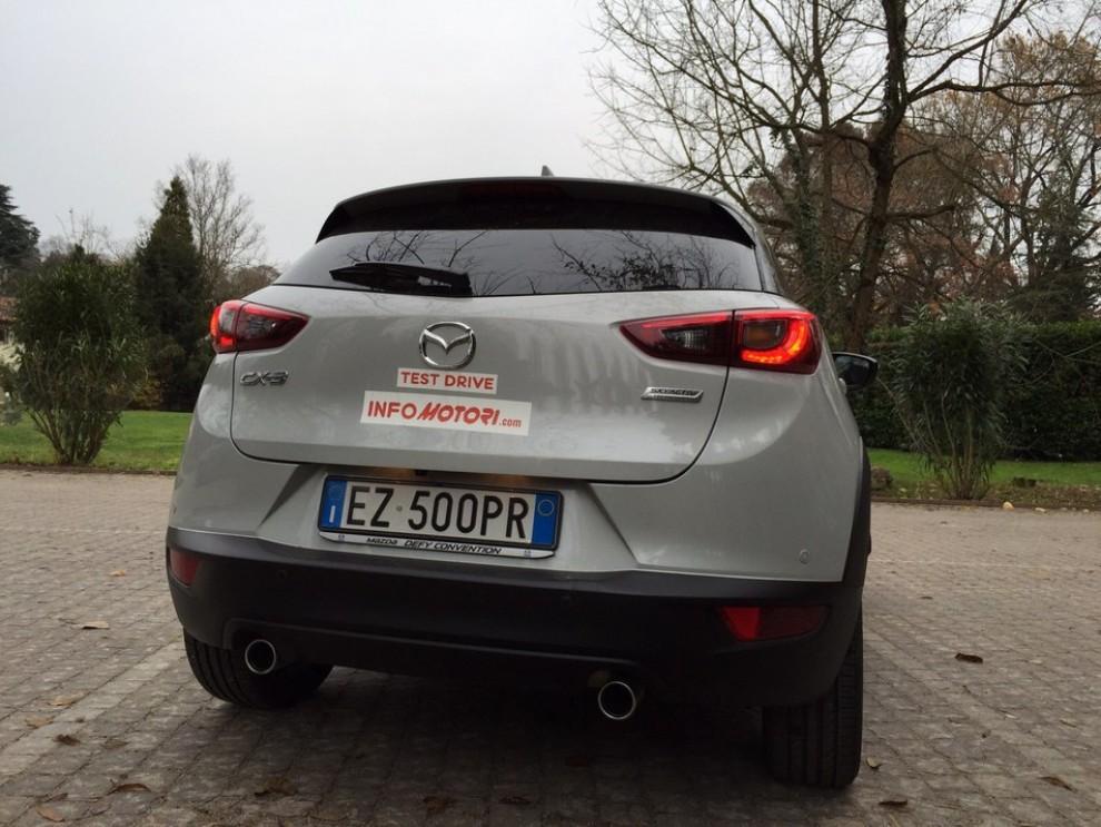 Mazda CX-3 1.5 Diesel prova su strada e prezzi  - Foto 12 di 19