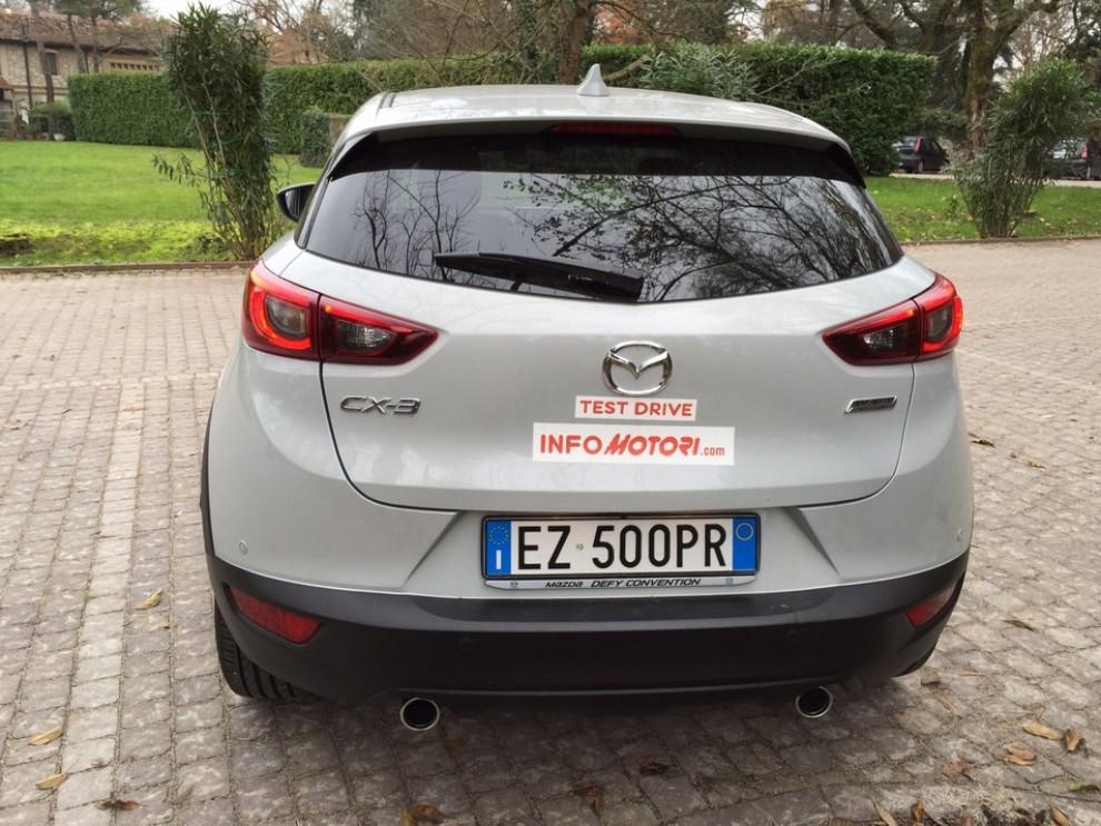Mazda CX-3 1.5 Diesel prova su strada e prezzi  - Foto 14 di 19