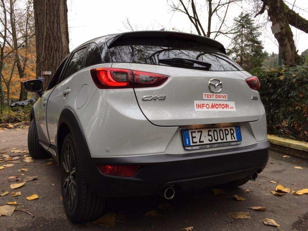Mazda CX-3 1.5 Diesel prova su strada e prezzi  - Foto 15 di 19