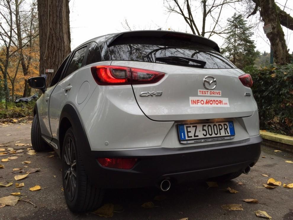 Mazda CX-3 1.5 Diesel prova su strada e prezzi  - Foto 16 di 19