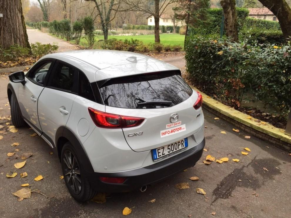 Mazda CX-3 1.5 Diesel prova su strada e prezzi  - Foto 19 di 19