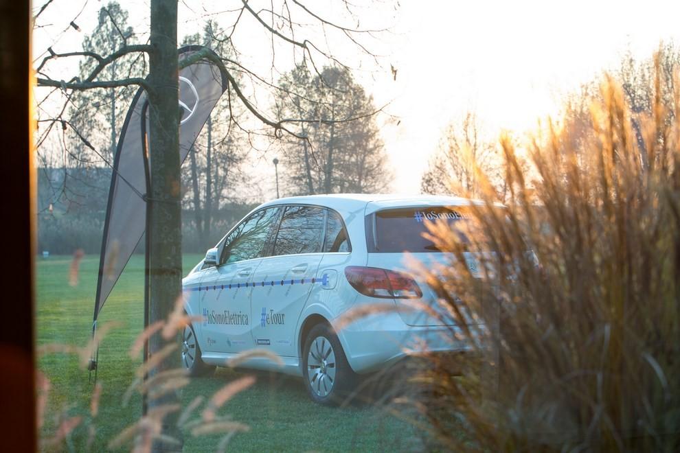 Mercedes Classe B 100% elettrica gira l'Italia - Foto 2 di 6