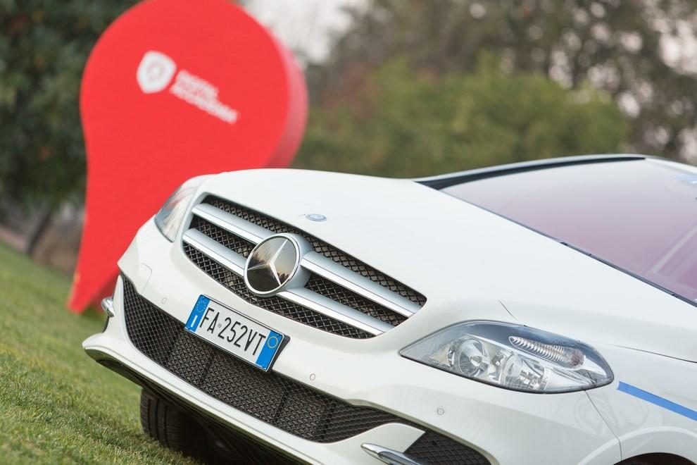 Mercedes Classe B 100% elettrica gira l'Italia - Foto 3 di 6
