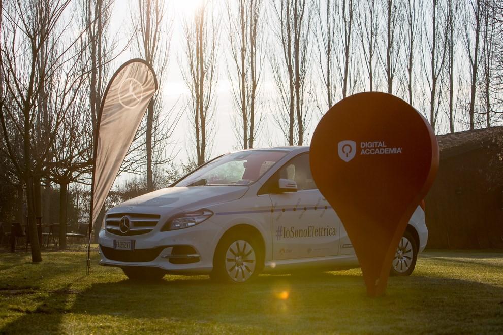 Mercedes Classe B 100% elettrica gira l'Italia - Foto 4 di 6