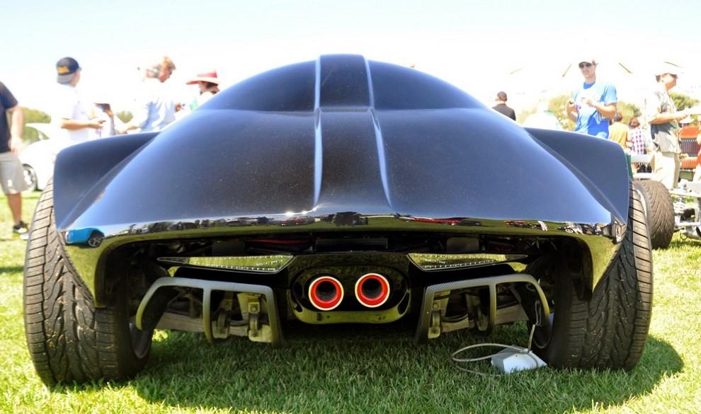 """""""Darth Car"""": l'auto ispirata a Darth Vader di Star Wars - Foto 5 di 7"""