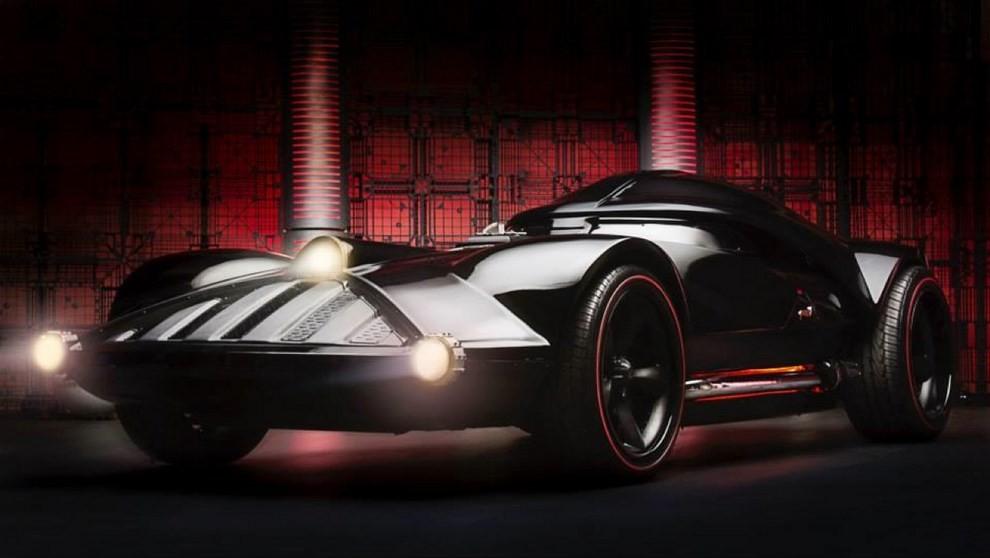 """""""Darth Car"""": l'auto ispirata a Darth Vader di Star Wars - Foto 7 di 7"""