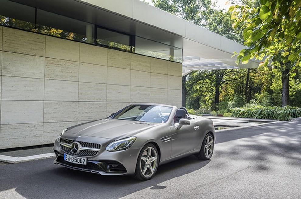 Nuova Mercedes SLC 2016 - Foto 9 di 19