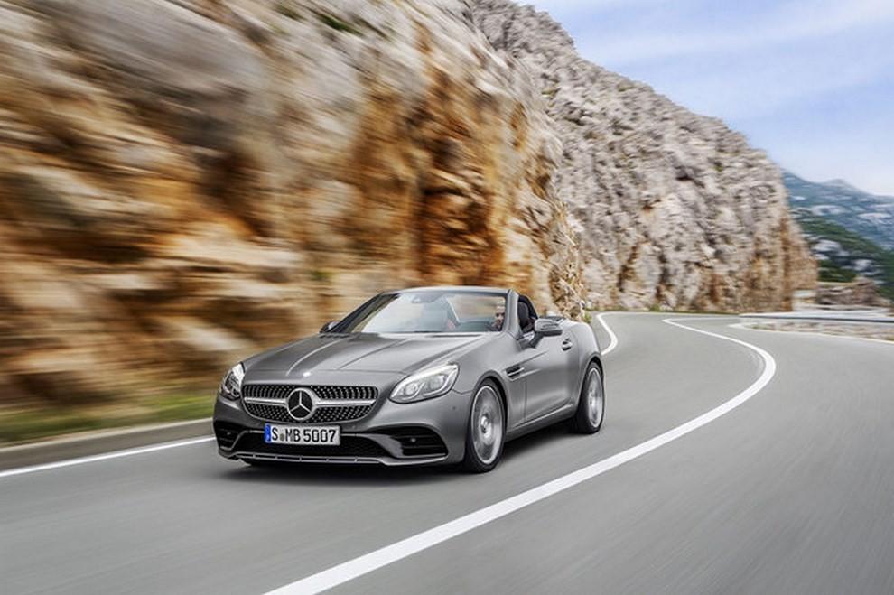 Nuova Mercedes SLC 2016 - Foto 1 di 19