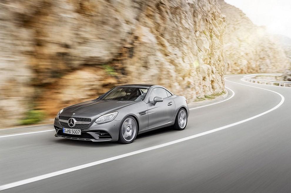 Nuova Mercedes SLC 2016 - Foto 10 di 19