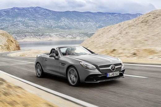 Nuova Mercedes SLC 2016