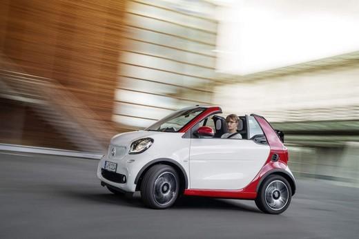 Arriva la nuova Smart Fortwo Cabrio