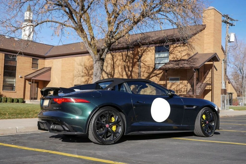 Jaguar F-Type Project 7 venduta su Ebay - Foto 8 di 10