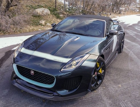Jaguar F-Type Project 7 venduta su Ebay