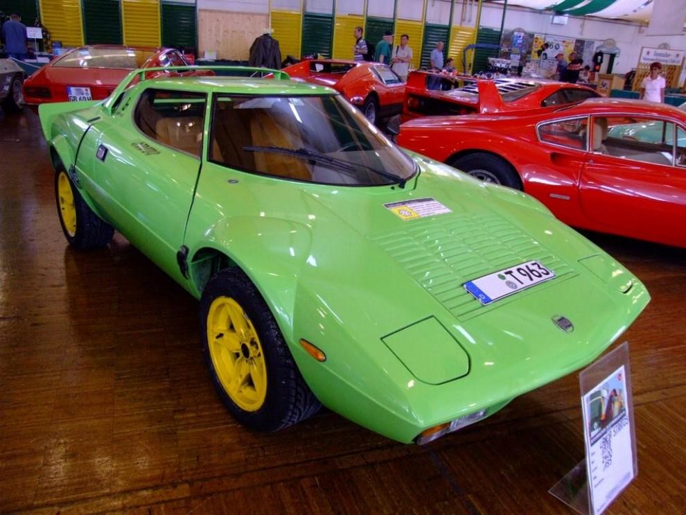 Lancia stratos completamente originale in vendita a dubai for 3 box auto in vendita