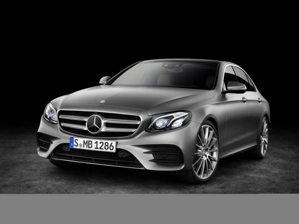 Nuova Mercedes Classe E 2016 prime immagini e dati ufficiali