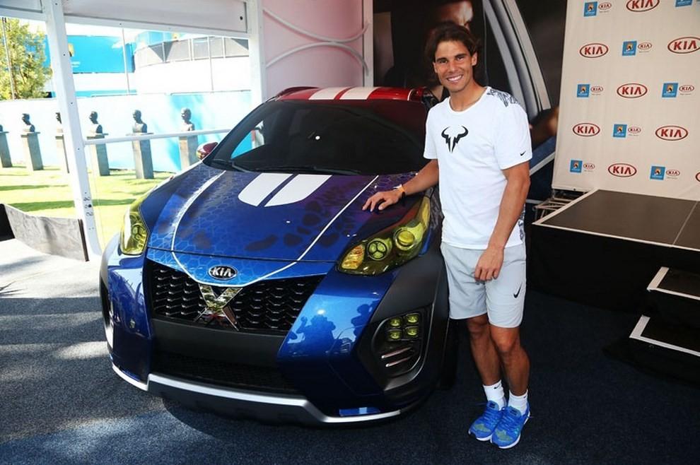 Kia Sportage CUV X-Car presentata da Rafael Nadal all'Australian Open 2016 - Foto 8 di 18