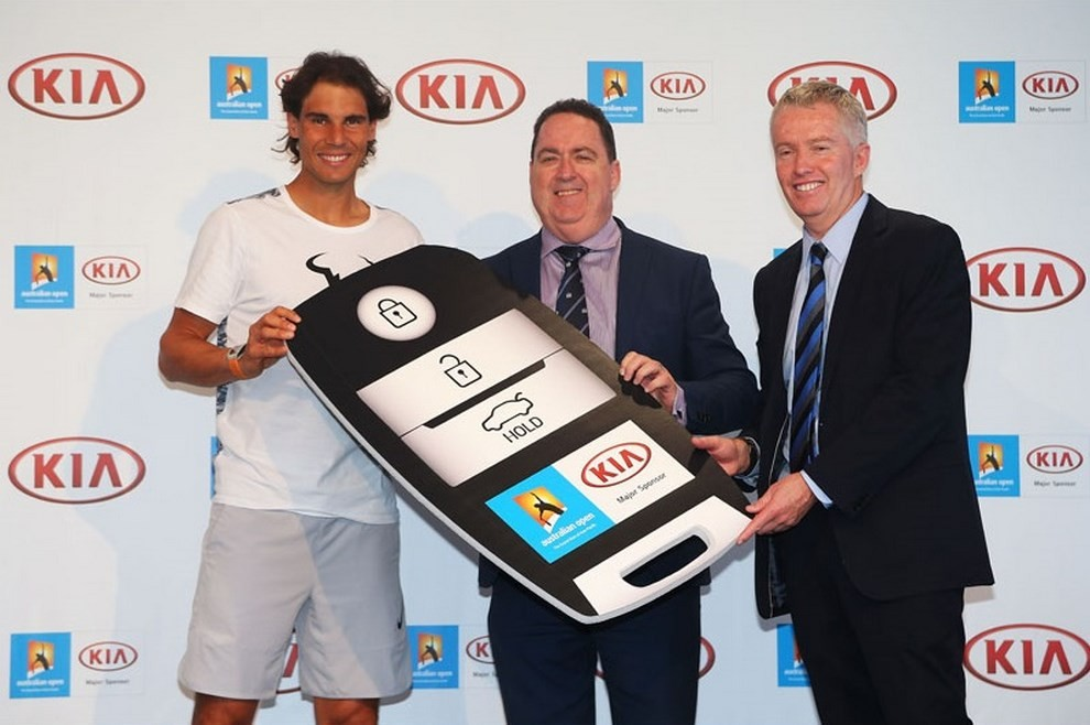 Kia Sportage CUV X-Car presentata da Rafael Nadal all'Australian Open 2016 - Foto 10 di 18