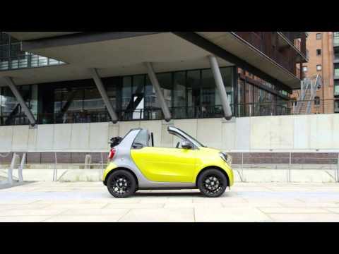 Nuova Smart Fortwo cabrio