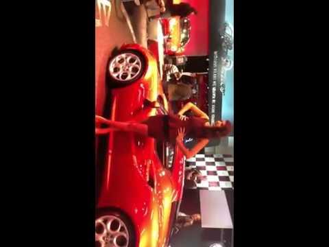 Alfa Romeo 4C Competizione al Salone di Francoforte 2013