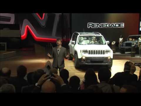 Jeep Renegade presentazione a Ginevra 2014