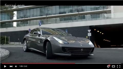 Ferrari GTC4 Lusso, il video ufficiale