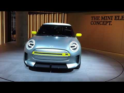 Mini Electric Concept al Salone dell'Auto di Francoforte 2017