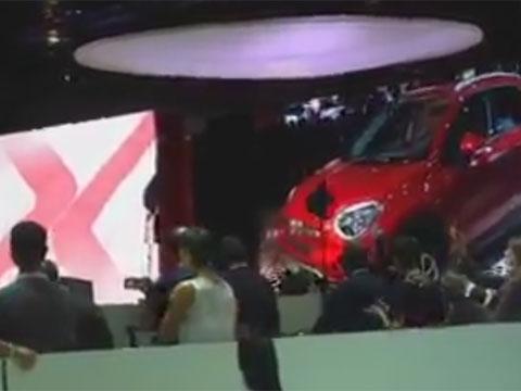 Presentazione della Fiat 500X al Salone di Parigi 2014