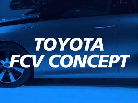 Toyota FCV Concept at 2014 NAIAS