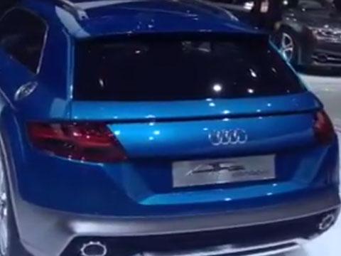 Audi allroad shooting break