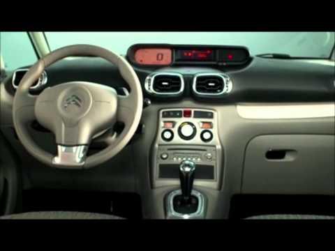 Citroen al mondiale dell'auto di parigi 2012 – C3 Picasso film studioi al Salone dell'Auto di Parigi 2012